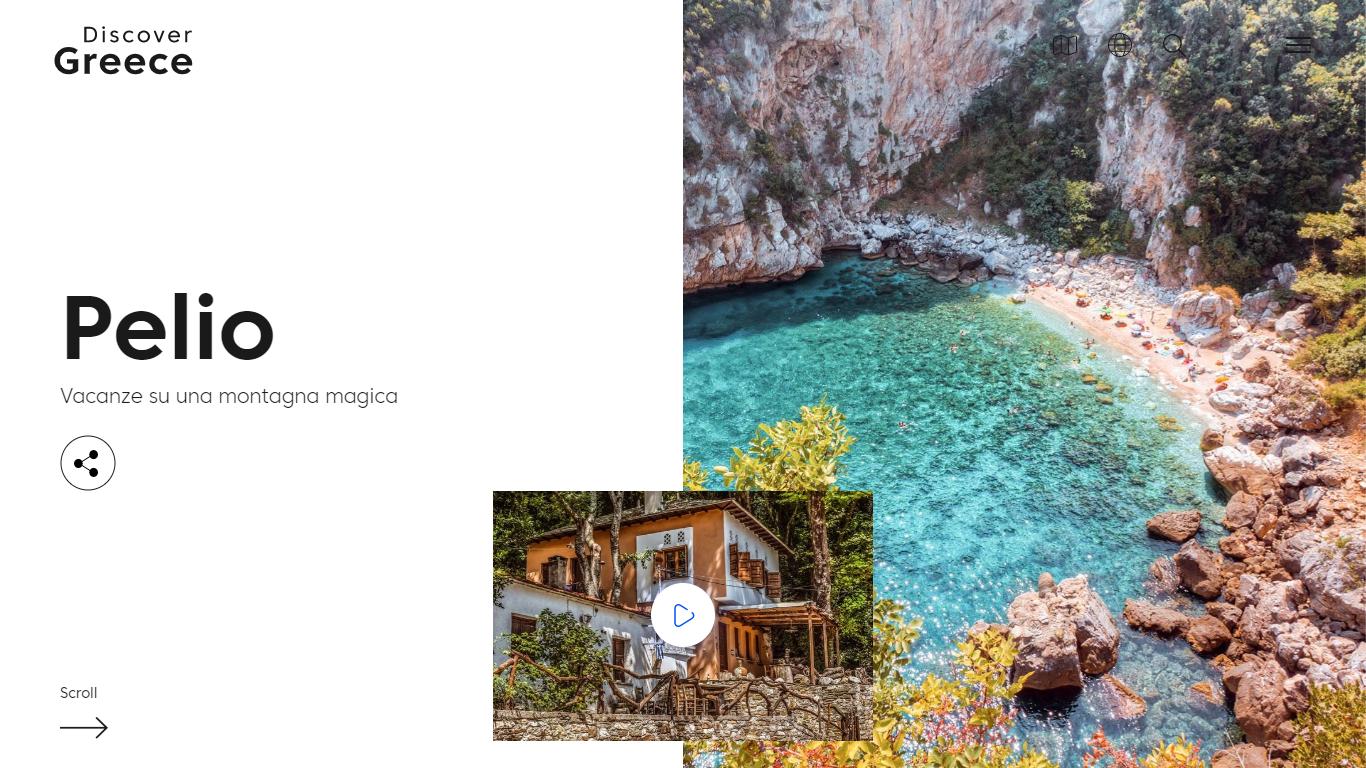 Discover Greece Pelio Dettaglio